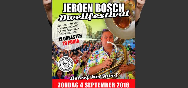 Promotie Jeroen Bosch Dweilfestival